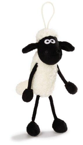 Nici 33617 - Shaun das Schaf Schlenker mit Sound, 17 cm