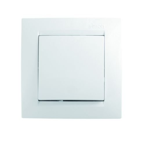 Simon F1590251030 Conmutador cruce blanco