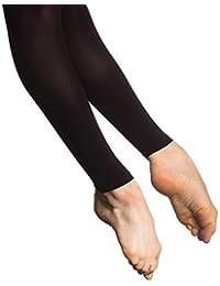 Basilica Dancewear sans Pieds Professionnel Ballet Collants de Danse 60den cb2398a2115