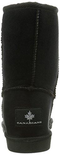 Canadians - 266 237, Stivali da Donna Nero(Schwarz (black 006))