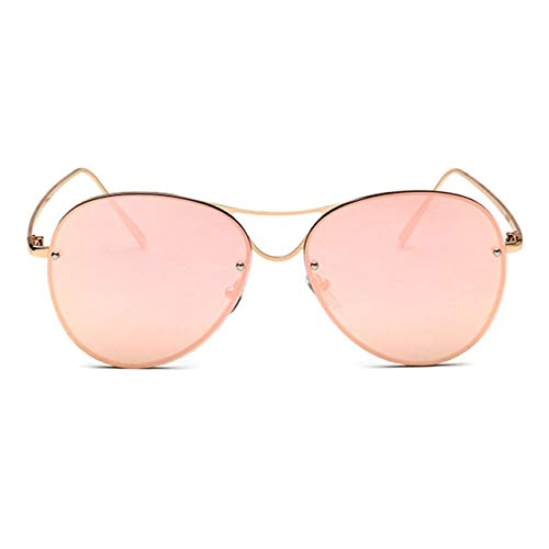 Prima05Sally Frauen Metallrahmen Sonnenbrille European American Fashion Weibliche UV400 Schutz Outdoor Travel Driving Eyewear Sonnenbrille