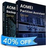 Best Windows Server Sauvegardes - AOMEI Backupper Server 4.1.0 & AOMEI Partition Assistant Review