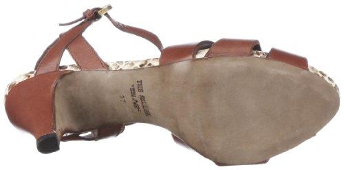 The Seller Adine S511, Sandales femme Marron-TR-K2-18