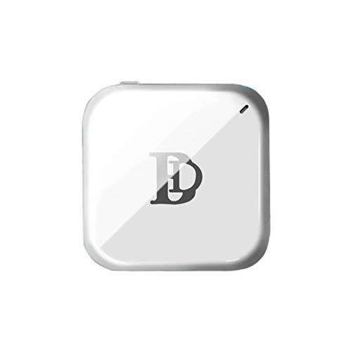 Wireless Hdmi Push Treasure mit dem Bildschirm Mobiltelefon Drahtlose WiFi-Verbindung Kleiner Bildschirm für großen Bildschirm - Weiß 160 mm x 120 mm x 30 mm (Storage Rv Box)