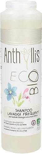 Anthyllis Shampoo Uso frecuente Eco-6contenitori da 250ml-Totale: 1500ml