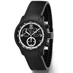 Audi Men's Chronograph Gents Watch blackline, Black