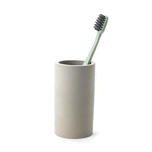 Liyao Kieselgur-Zahnbürste Zahnpasta Ständer Halter Aufbewahrungsbox Tasse Super saugfähig schnell trocknend antibakteriell -