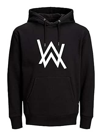ABSOLUTE DEFENSE Alan Walker Hoodie for Men Women Casual Sweatshirt Regular fit Winter Jacket Boy Girl Hoodie Black