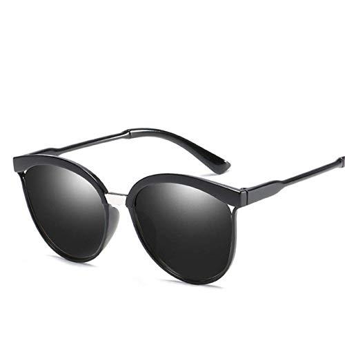 Jeewly Klassische Sportsonnenbrille, Sunglasses Women Reflective Coating Sun Glasses Vintage Round Sun Glasses