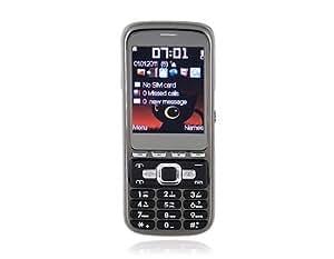 "2.2"" TFT Screen Quad Band Quad SIM Quad Standby Cell Phone with TV FM Bluetooth 2GB TF Card Support (Black)"