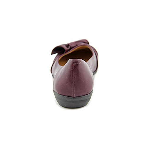 White Mountain Mina Synthétique Chaussure Plate Bordeaux