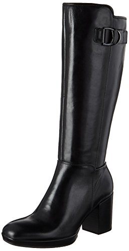 Ecco Shape 55 Chalet Platform, Stivali da Equitazione Donna Nero (Black)