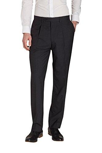 next Homme Costume 100% laine: Pantalon Gris