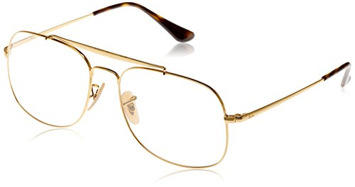 Rayban Herren Brillengestell The General, Gold, 55