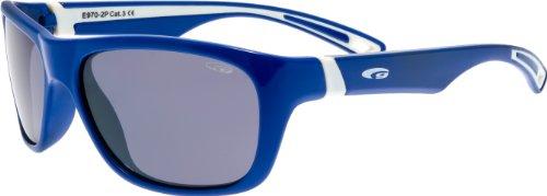 Lunettes de soleil avec verres polarisants e970p Enfant Bleu/Blanc