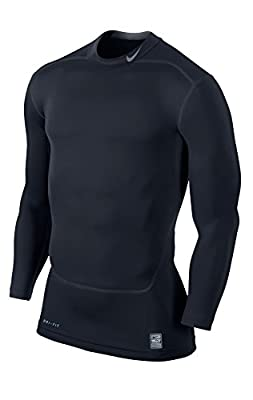 NIKE Herren langarm Shirt Pro Combat Core Compression 2.0 Mock