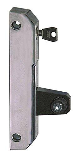 Schubladenverschluss 6190 für Kühlgerät Länge 185mm Breite 23,5mm abschließbar EP rechts/links Rundrohr