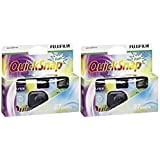 Fujifilm QuickSnap 400 Disposable Flash Camera (Pack of 2)