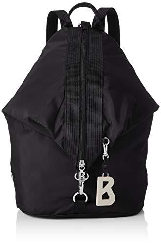 Bogner Damen Verbier Debora Backpack Lvz Rucksack, Schwarz (Black), 12x41x26 cm