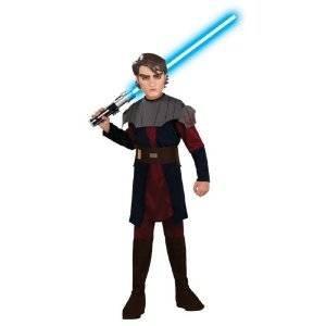 Clone Wars Anakin Kostüm mit Schwert, für Kinder, Gr. S (Rubie 's 883395-s) (Clone Wars Halloween Kostüme)