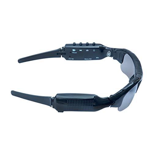 Bluetooth Brillen Sport Kamera MP3 Digital-Gläser, die Lied-Anruf-Sonnenbrille hören