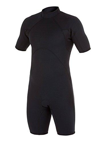 Quiksilver 2/2mm Syncro - Short Sleeve Back Zip Springsuit - Männer (Springsuit)