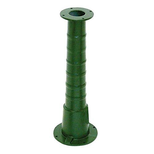Xclou Pumpenständer für Schwengelpumpe 70 cm im Garten Teiche und Zubehör, Grün, 70 x 24 x 68 cm