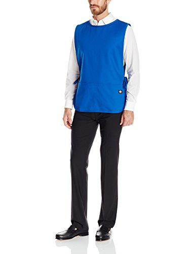 Dickies Chef Cobbler Bib Apron with Tie Sides Royal One Size DC50