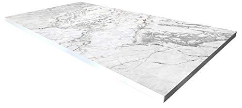 Cuadros Lifestyle Design-Tisch/Schreibtisch/hochwertige Tischplatte/Esstisch/Arbeitstisch/Bürotisch/Marmoroptik/DIY/in Zwei Größen erhältlich/ab 149 Euro, Größe:180×90 cm