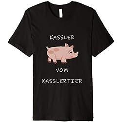 Kassler vom Kasslertier T-Shirt Metzger Fleischer Schlachter