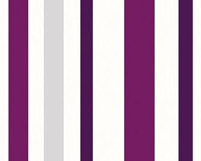 Schöner Wohnen 227928 Vliestapete Wonderful Colour, Streifentapete von Schöner Wohnen 3 bei TapetenShop