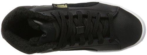 Puma 1948 Mid L Fur, Sneaker a Collo Alto Unisex-Adulto Nero (Black-black)