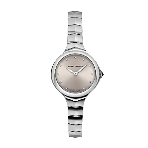 Emporio Armani Women's Analogue Quartz Watch with Stainless Steel Strap ARS8013