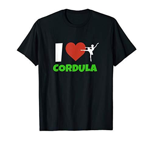 Eis Kostüm Tanzen - I Love Cordula Grün tanzen party Schlager T-Shirt