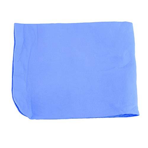 Natürliche weiche Chamois Leder Auto Auto Reinigungstuch Waschen Suede Saugfähigen Handtuch New Car Styling Werkzeug - Blau