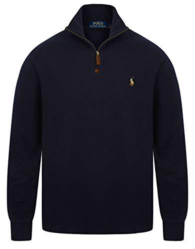 Ralph Lauren Sweatshirt Pullover Hunter Blau L