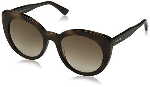Etro et643s 215 53 occhiali da sole, marrone (dark havana)