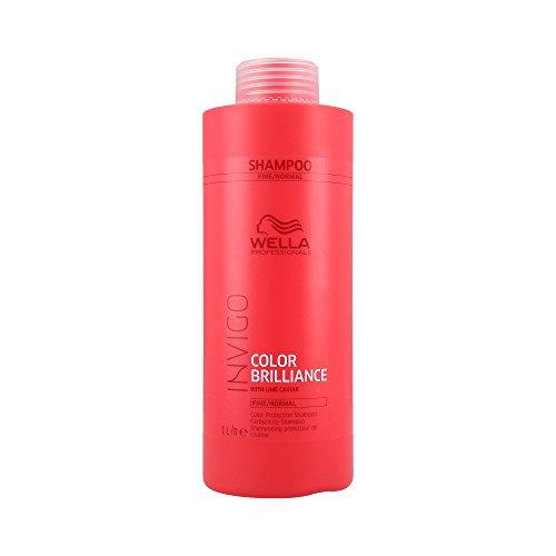 Wella Invigo Color Brilliance Protection Shampoo 1000 ml Pflegendes Shampoo für coloriertes, feines & normales Haar