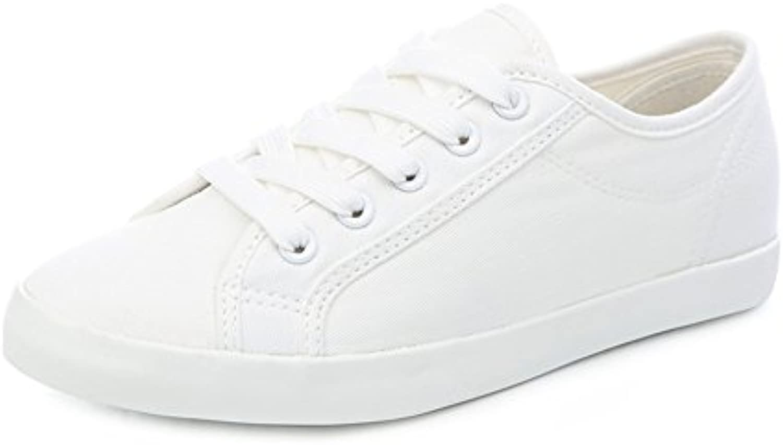 Fine Fine Fine dellestate scarpe di tela Aiutare gli studenti con-donna scarpa bassa | Bella E Affascinante  1a15fc