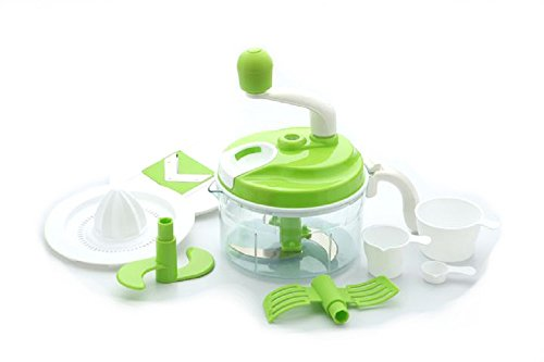 Ambition 10 in1 Food Processor, Atta Maker, Juicer ,Dough Maker, Mixer, Cutter, Dicer (Color may Vary)