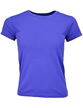 Ralph Lauren–Camiseta cuello redondo Ralph Lauren Holly azul para mujer