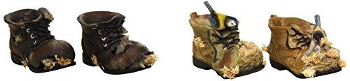 Sunny Toys 12197 Poly Schuh mit Maus und Vogel 11 cm, 4 fach sortiert -