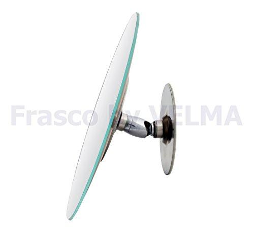 Frasco by VELMA KOR-7x - Handgefertigter rahmenloser Kosmetikspiegel mit 7-Fach-Vergrößerung -...