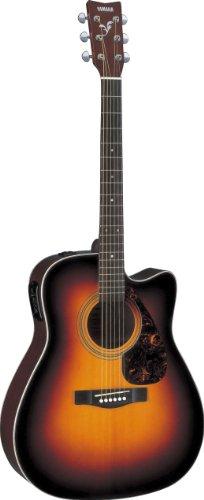 Yamaha FX370C Elektroakustische Gitarre mit Cutaway: Tobacco Sunburst