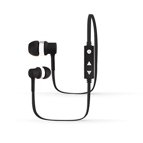 Transer® Mode Wireless Bluetooth 4.1 Kopfhörer Wasserdichte Sport Kopfhörer Stereo Headset Universal Earphone Für Handy/Computer Earbuds Headsets Ohrhörer (Schwarz)