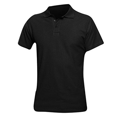 SOLS Herren Spring II Polo-Shirt, Kurzarm Marineblau