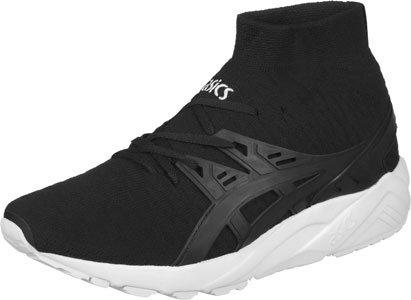 Asics - Gel Kayano Trainer Knit MT White/White - Sneakers Uomo Nero