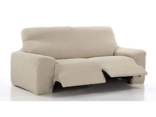 El Tintorer Funda de sofá elástica Relax Fun (Negro, Sofá Relax 3...