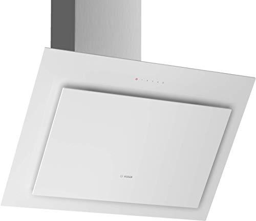 Bosch DWK87CM20 Serie 4 Wandesse / B / 80 cm / wahlweise Umluft- oder Abluftbetrieb / DirectSelect-Bedienung / Klarglas weiß