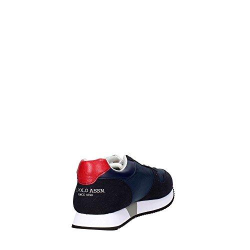 Sneakers Camoscio e Nylon Uomo U.S. POLO ASSN Blu